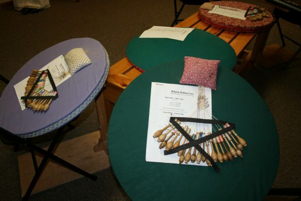 Belgian Bobbins, Lace and Brews Workshop