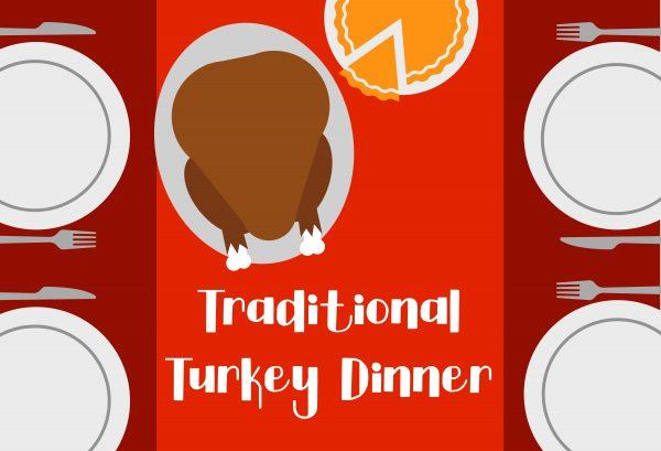 Turkey Dinner Banner