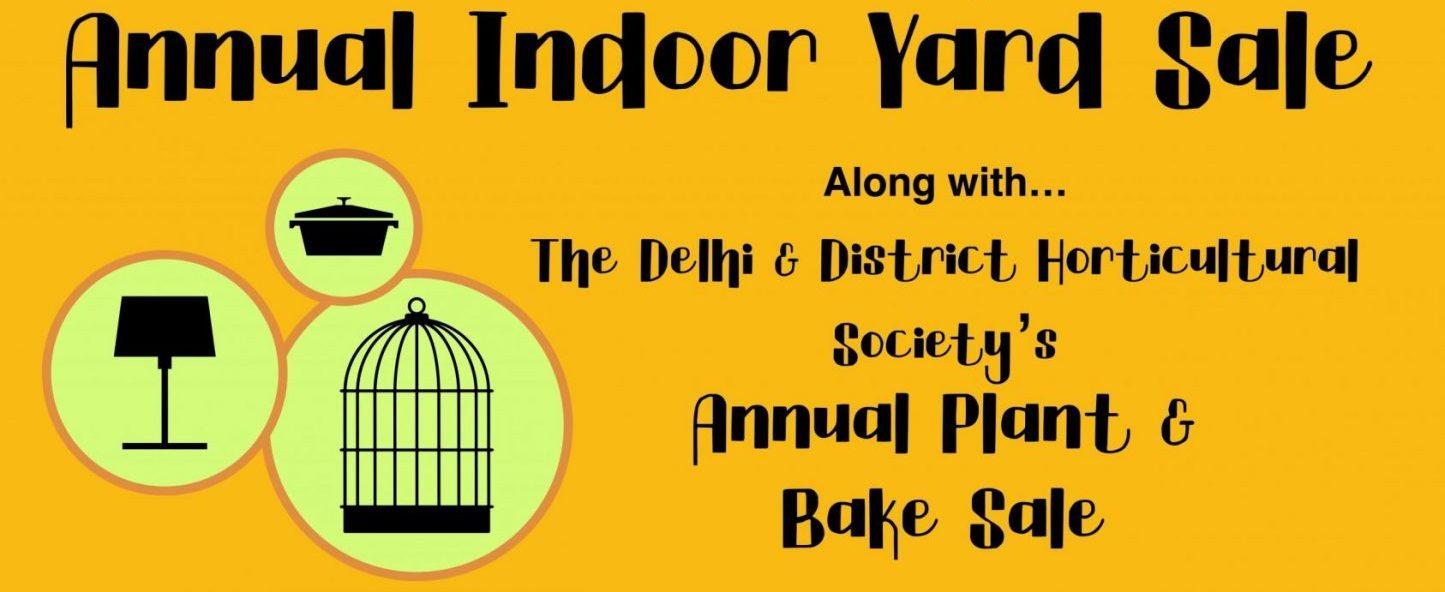 Indoor Yard Sale Banner